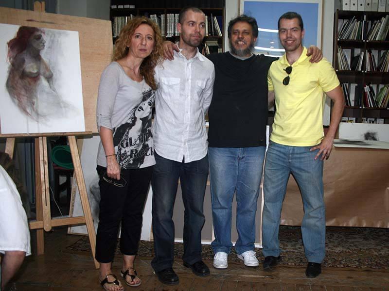 """Curso """"Procesos y estrategias del dibujo contemporáneo"""" con los Hnos. Pardo"""