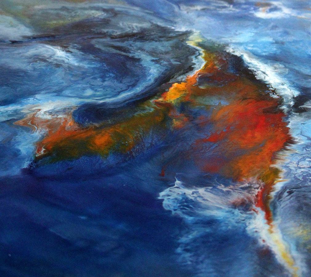 """Planeta Tierra"" 120 x 80 Técnica Mixta/Tabla"