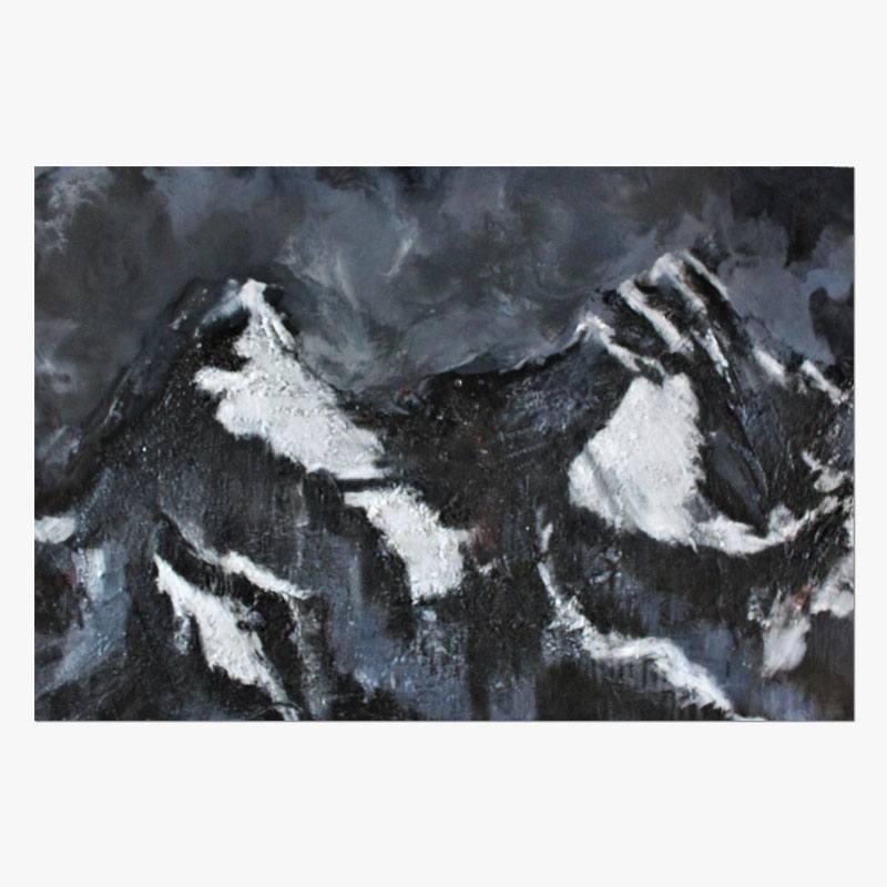 """""""Nepal"""" 80 x120 Técnica Mixta/Tabla"""