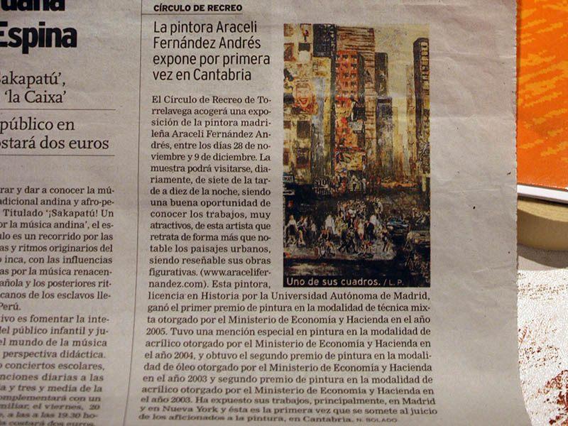 Publicación Diario de Cantabria